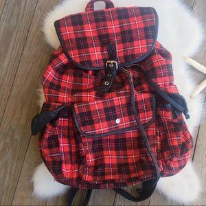 BUFFALO PLAID Tartan Backpack